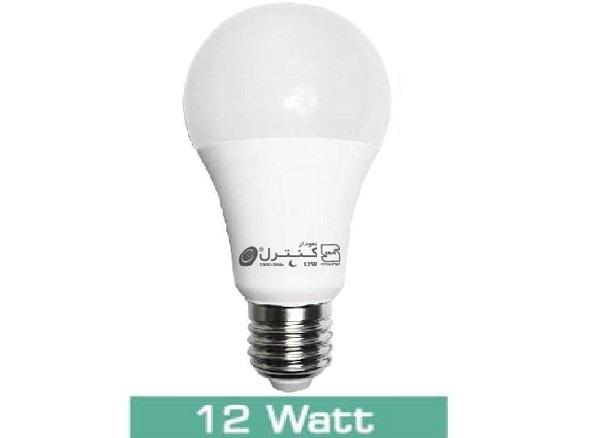 لامپ LED حبابی12 وات(آفتابی-مهتابی)
