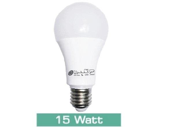 لامپ LED حبابی15 وات(آفتابی-مهتابی)