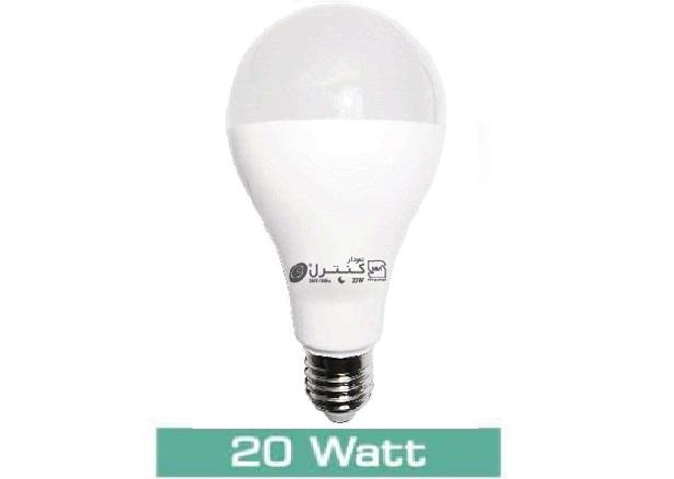 لامپ LED حبابی20 وات(آفتابی-مهتابی)